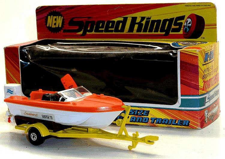 Matchbox K-25 Boat and Trailer
