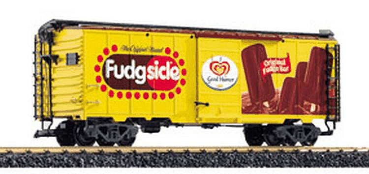 LGB 1-gauge 48915 'Fudgsicle' Reefer Car