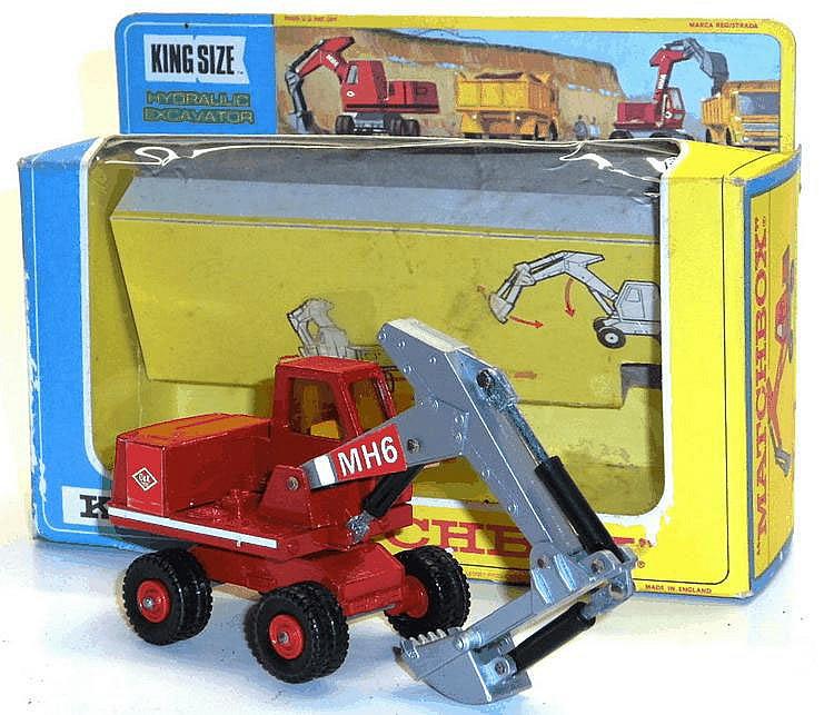 Matchbox K-1 Hydraulic Excavator