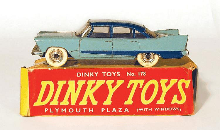 Dinky 178 Plymouth Plaza