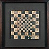Laura Grisi (née en 1939) Chessboard, 1990 (from the series Endless Dialogue, 1977)
