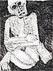 Rosemarie Kôczy (1939-2007) Sans titre, 1993 Encre sur papier Signée et datée
