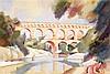 André Lhote (1885-1962) Le pont du Gard, 1923 Gouache sur papier Signée en bas à droite 36,5 x 54cm, Andre Lhote, €3,000