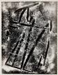 RAOUL HAUSMANN (1886-1971) Photopictogramme, 1954 Épreuve argentique découpée aux