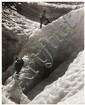 Gyula Halasz, dit BRASSAÏ (1899-1984) Alpinistes sur un glacier, vers 1935 Épreuve argentique, portant le cachet du photographe au v...