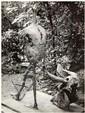 GYULA HALASZ, Dit BRASSAÏ (1899-1984) Tauromachie, sculpture de Germaine Richier, vue de dos, vers 1950 -1955 Épreuve argentique, po...