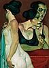 Juares Machado (Né en 1941) Conjugaison des talents, 2005 Huile sur toile Signée, située