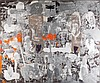 Mimmo Paladino (né en 1948).Esercizio di lettura 1, 1998. Mixed media and collage on canvas.Signed, dated and titled on the reverse.95, Mimmo Paladino, €60,000