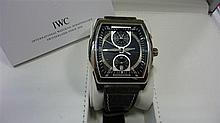 IWC DA VINCI CHRONOGRAPHE REF. 376601 A stainless steel self winding chronograph by IWC.
