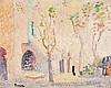 Henri Person (1876-1926) SAINt Tropez Huile sur panneau Signée en bas à gauche 33 x 40cm