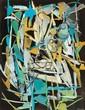 André Lanskoy (1902-1976) Sans titre Gouache sur papier Signée en bas à droite Gouache on paper Signed lower right 65 x 50 cm - 25 1...
