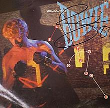 David Bowie Signed Lets Dance LP