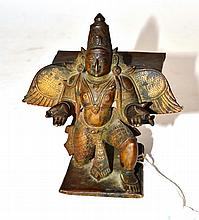An Indian Bronze Figure of a Giruda, probably 18th