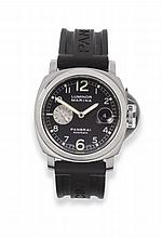 A Stainless Steel Automatic Calendar Wristwatch,