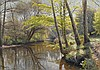 Peder Monsted (1859-1941) Danish ''Tranquil, Peder Mork Monsted, £0