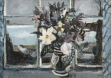 Rowland Suddaby (1912-1972) Still life of flowers