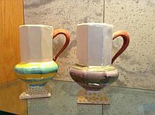 MacKenzie-Childs Two Ceramic Mugs
