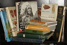 15 books on archaeology & Native American cultures