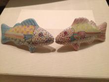 MacKenzie Childs Ceramic Drawer / Door Pull Lot