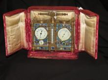 Rare Antique French Carriage Clock