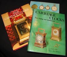 3 Vintage Books Regarding Carriage Clocks & Watche