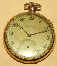 Hamilton Antique Gold Filled Pocket Watch