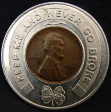 1950 D Wheat Cent