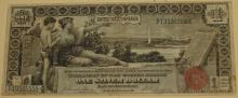1896 $1 Educational Series Note - Large Silver