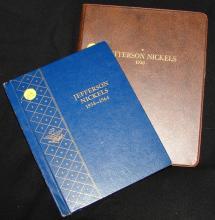2 Jefferson Nickel books: 1938-1964