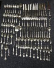 Sterling. Reed & Barton Service of Silver Utensils