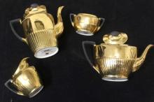 Gold Staffordshire Tea Set