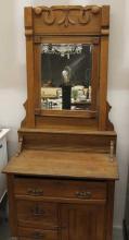 Antique Victorian Aesthetic Movement Dresser