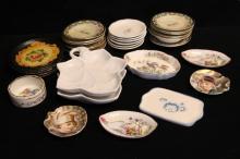 Assorted Antique & Vintage Porcelain Dishes