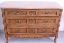 Louis XV Style Marble Top Dresser