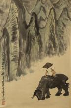 Chinese Painting Signed By LiKeRan