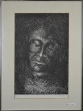 Limited Edition Wood Block Print Signed 1982