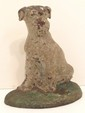 Hubley Wirehaired Fox Terrier Door Stop