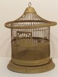 Antique Pagoda Style Bird Cage