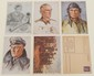 Lot of 6 Nazi Postcard