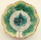 Majolica 'Leaf ' Bowl