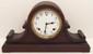 Sessions Enamel Dial Tambour Mantel Clock