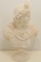 Romanesque Alabaster Bust