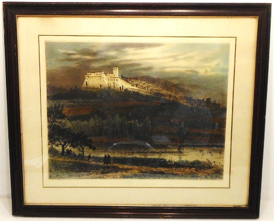 Colored Etching Axel H. Haig