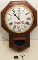 Waterbury Octagon Regulator Coke Clock