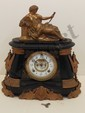 Ansonia Pompeii Mantel Clock With Topper