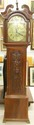 Antique Robert McArra Grandfather Clock