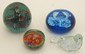 Lot of Four Art Glass Paperweights #2
