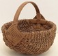 Twisted Braided Gathering Basket