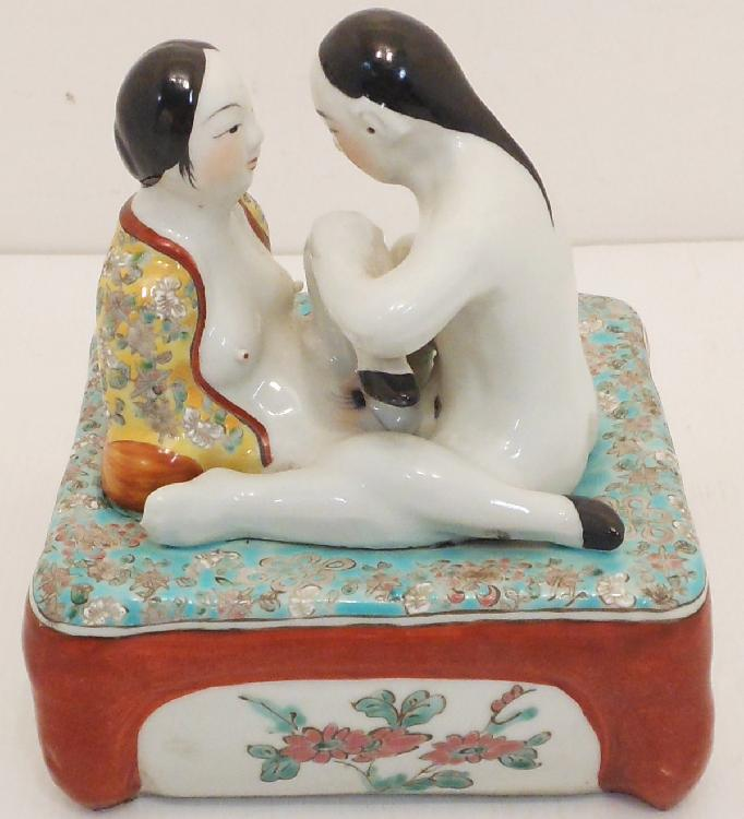 Chinese Erotica Royal Ceramic