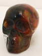 Hand Carved Copal Skull #2